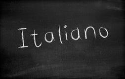 Italiano imagens de stock