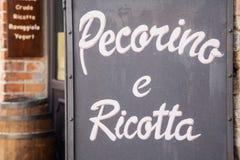 Italiano Cacioteca Foto de Stock