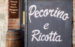 Italiano Cacioteca Imagem de Stock