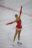 Italiano campeonatos el guardapolvo 2009 del patinaje artístico Imagen de archivo libre de regalías
