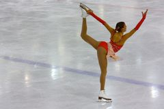 Italiano campeonatos el guardapolvo 2009 del patinaje artístico Fotos de archivo libres de regalías