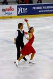 Italiano campeonatos el guardapolvo 2009 del patinaje artístico Fotografía de archivo