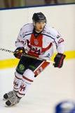 Italiano dell'hockey su ghiaccio Fotografia Stock Libera da Diritti