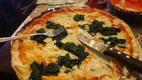 Italiano do alimento da pizza fotografia de stock