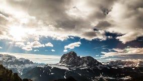 Italiano Dolomiti pronto per la stagione dello sci Immagini Stock Libere da Diritti