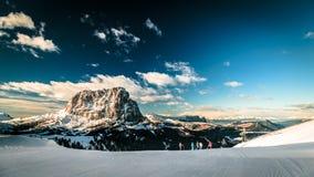 Italiano Dolomiti pronto per la stagione dello sci Fotografie Stock
