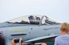 Italiano Eurofighter em Radom Airshow, Polônia Foto de Stock