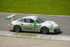 Italiano GT 2015 de Ebimotors Porsche 997 em Monza Fotos de Stock