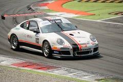 Italiano GT 2015 de Porsche 997 del Motorsport de Antonelli en Monza Fotografía de archivo