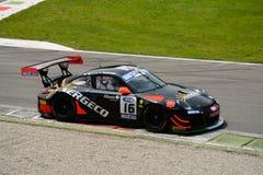 Italiano GT 2015 de Porsche 997 del Motorsport de Kripton en Monza Fotos de archivo