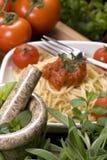 Italiano que cocina 005 Imagenes de archivo