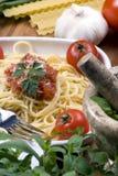 Italiano que cocina 007 Fotografía de archivo libre de regalías