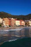 Italiano Riviera dell'Italia Alassio Fotografia Stock Libera da Diritti