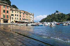 Italiano riviera, Portofino Italia Fotografia Stock