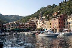 Italiano riviera, Portofino Italia Fotografie Stock Libere da Diritti