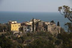 Italiano Riviera, Varigotti, Italia Imagen de archivo libre de regalías