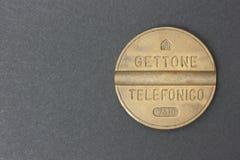 Italiano simbólico del teléfono Imagen de archivo libre de regalías