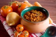 Italiano tradicional Ragu Fotos de Stock Royalty Free
