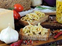 Italiano van aubergineantipasto stock afbeelding