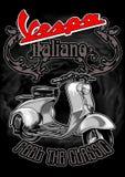 Italiano Vespa Стоковое Изображение