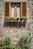 Italiano Windows con los obturadores Imagen de archivo libre de regalías