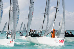 Italians finish 4th at the Melges 20 World Championships Royalty Free Stock Photos