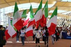 Italians  show Milan,milano expo 2015. Italians Expo 2015 milano,feeding the planet-energy for life Stock Photography