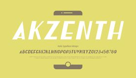 Italic akzenth Royalty Free Stock Photos