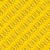 Italic Batik Yellow Pattern Royalty Free Stock Image