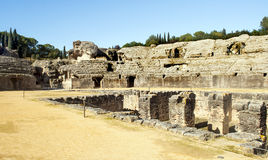 Italica Coliseum Royalty Free Stock Images