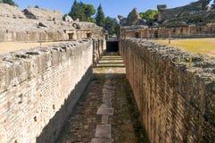 Italica Kolosseum Lizenzfreies Stockbild