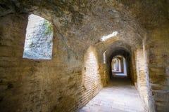 Italica Roman Ruins arkivbilder
