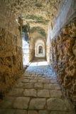 Italica Roman Ruins, Spanje Stock Foto