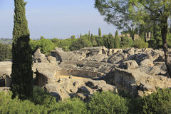 Italica ruins, Spain Royalty Free Stock Images