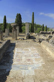 Italica ruins, Spain stock photography