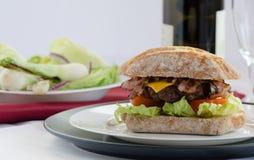 Italien汉堡 免版税库存图片