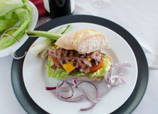Italien汉堡 库存图片