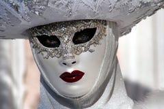 "Italien-†""Venezia - gelbe Maske Stockbild"