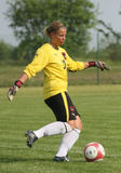 Italien - Österreich, weiblicher Fußball U17; freundliche Abgleichung Lizenzfreies Stockbild