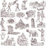 Italien royaltyfri illustrationer