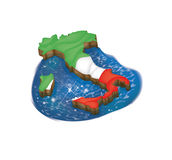 Italien 3D vektor abbildung