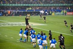 Italien - alle Schwarzen Stockfoto