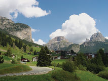 Italien Alps. Landscape in the Italian Alps stock photo