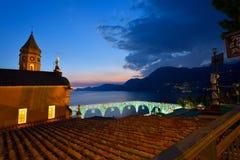 Italien Amalfi kust Royaltyfri Fotografi