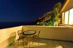 Italien Amalfi kust Fotografering för Bildbyråer