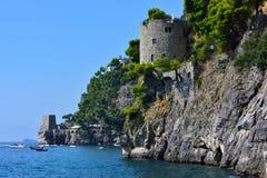 Italien Amalfi kust Royaltyfri Bild