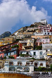 Italien Amalfi kust Royaltyfria Bilder