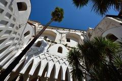 Italien Amalfi kust Royaltyfria Foton