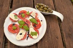 Italien appetizer Royalty Free Stock Images