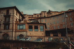 Italien arkitektur Arkivfoton